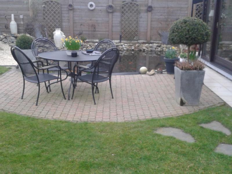 Project met terrassen